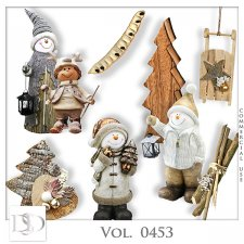 Vol. 0453 Winter Christmas Mix by D's Design