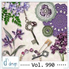 Vol. 990 - Vintage Mix by Doudou's Design