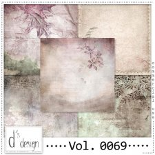 Vol. 0069 Vintage Autumn papers by Doudou Design