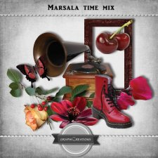 Marsala time mix by Graphic Creations