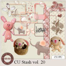 EXLUSIVE CU Stash Vol. 20 mini kit by Happy Scrap Arts