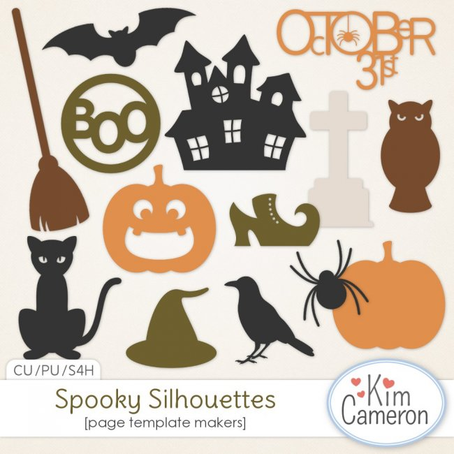 Spooky Silhouettes by Kim Cameron