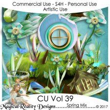 Spring Mix - CU Vol 39 by MagicalReality Designs