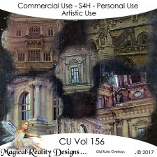 Old Ruins Overlays- CU Vol 156 by MagicalReality Designs