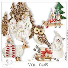Vol. 0449 Winter Christmas Mix by D's Design