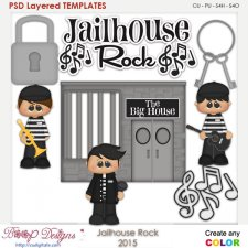 Jailhouse Rock Layered Element Templates