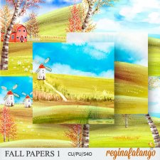 Fall Papers 1 by Reginafalango