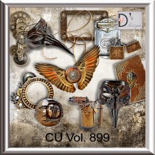 Vol. 899 Steampunk Mix by Doudou Design