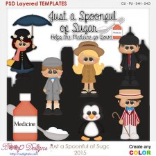 Spoonful of Sugar Layered Element Templates