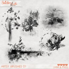 Artsy Brushes 01