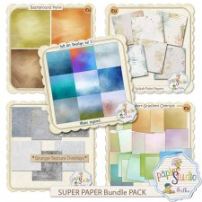 Super Bundle 1 Paper Pack by Papierstudio Silke