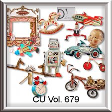 Vol. 679 Toys Mix by Doudou Design