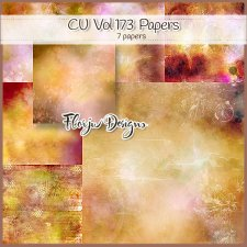 CU vol 173 Autumn Papers by Florju Designs