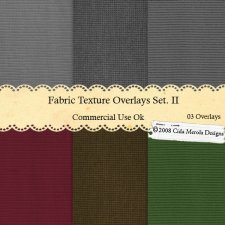 Fabric Texture Overlays Set 2 by Cida Merola