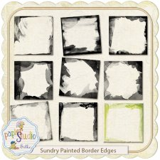 Sundry Painted Edgers EXCLUSIVE by PapierStudio Silke