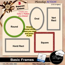 Basic Frames ACTION by Boop Designs
