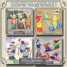EXCLUSIVE Country Mouse Bundle 2 by Silver Splashes