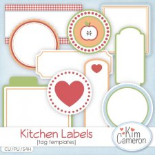 Kitchen Labels by Kim Cameron