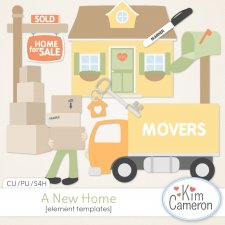 A New Home Templates by Kim Cameron