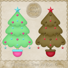 Christmas Tree Photoshop Action 6 by Josy