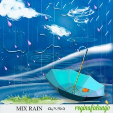 Mix Rain by Reginafalango