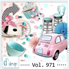 Vol. 971 Fifties Mix by Doudou Design