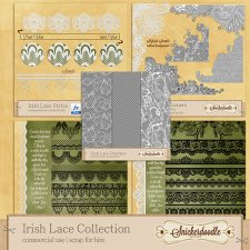 Irish Lace Collection by SnickerdoodleDesigns