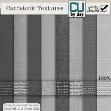 Cardstock Textures - CUbyDay EXCLUSIVE