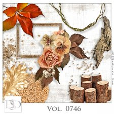 Vol. 0746 Autumn Nature Mix by D's Design