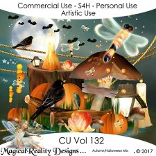 Halloween Autumn MEGA Bundle - CU Vol 131 by MagicalReality Designs