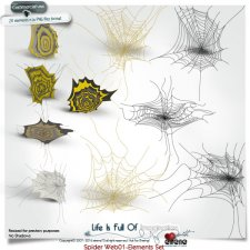 Spider Webs 01 Elements-actions results by Eirene Designs