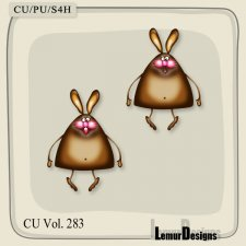 CU Vol 283 Rabbits Bunny by Lemur Designs