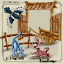 CU Vol 866 Animals by Lemur Designs