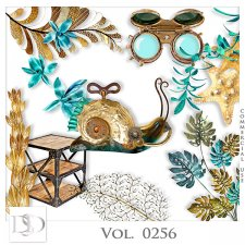 Vol. 0256 Steampunk Sea Mix by D's Design