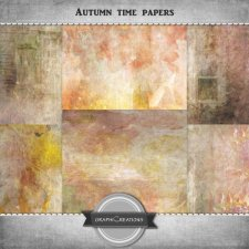 Autumn time papers by Graphic Creations