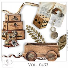 Vol. 0433 Vintage Mix by D's Design