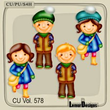 CU Vol 578 Kids by Lemur Designs