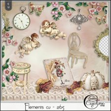 Elements CU - 265 Shabby interior by Cajoline-Scrap