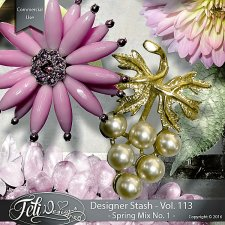 Designer Stash Vol. 113 Spring Mix No. 1 - by Feli Designs