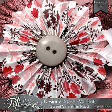 Designer Stash Vol 166 - Sweet Valentine No. 3 by Feli Designs