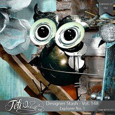 Designer Stash Vol. 148 - Explorer No. 1 by Feli Designs