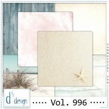 Vol. 996 - Beach papers - by Doudou's Design