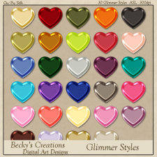 Glimmer Photoshop Styles -ASL-by Beckys Creations