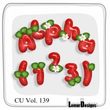 CU Vol 139 Strawberry Alpha by Lemur Designs