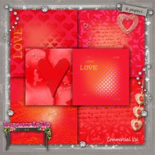 PAPERS Vol 104 Valentine Day EXCLUSIVE byMurielle