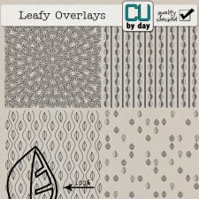 Leafy Overlays - CUbyDay EXCLUSIVE