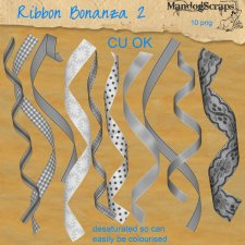 Ribbon Bonanza 2 by Mandog Scraps