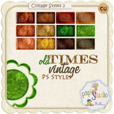 Collage Styles Set 2 EXCLUSIVE by PapierStudio Silke