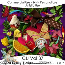 Spring Mix - CU Vol 37 by MagicalReality Designs