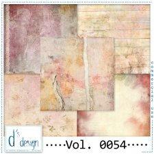 Vol. 0054 - Vintage papers - by Doudou's Design